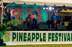 Haiku Hillbillys @ Lana'i Pineapple Festival photo by Wayne Westcott
