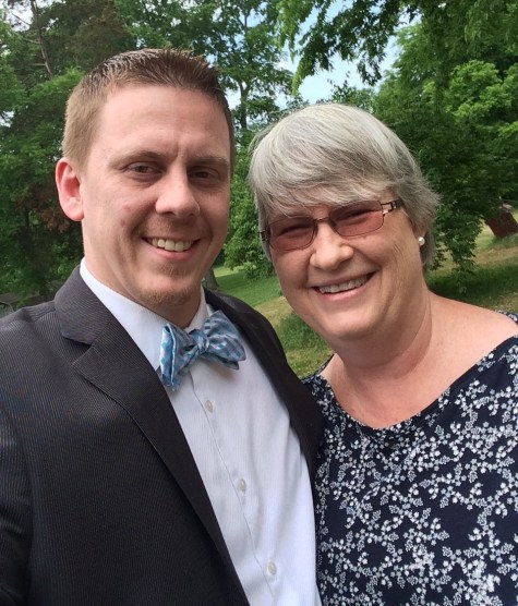 Mother's Day pic: Micah and Vicki