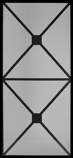 Harvard Wrought Iron Door Insert