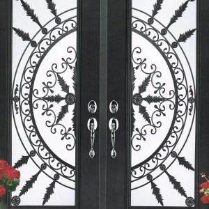 San Pedro Wrought Iron Door Insert