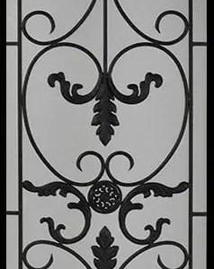 Medici Wrought Iron Door Insert