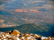 Garden of the Gods from Pikes Peak