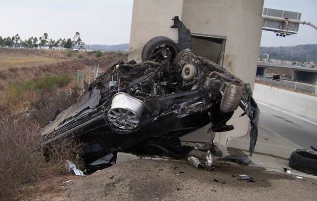 The Catsouras' Car.  We have made an editorial decision to refrain from publishing the photos of the dead girl.