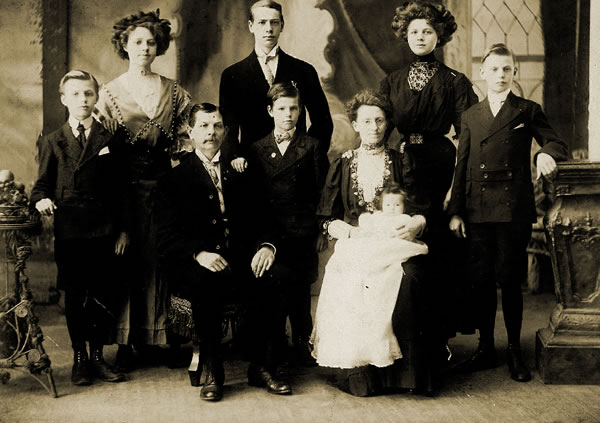 The Steinberg - Drewes family