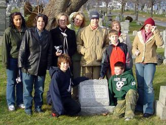 At the Steinberg-Oerding grave