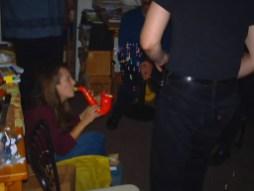 Chair, Jane, Saxomophone, Gary's butt