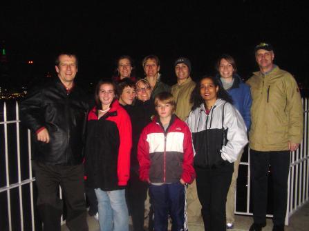 A similar gang at Hamilton Park, Weehawken, NJ - Thanksgiving 2004