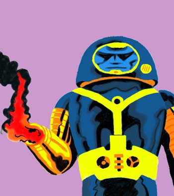 Spaceguy from Kirby's Devil Dinosaur. (Painter)