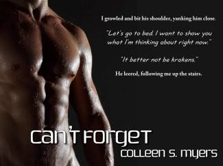 Can't Forget Colleen S. Myers1