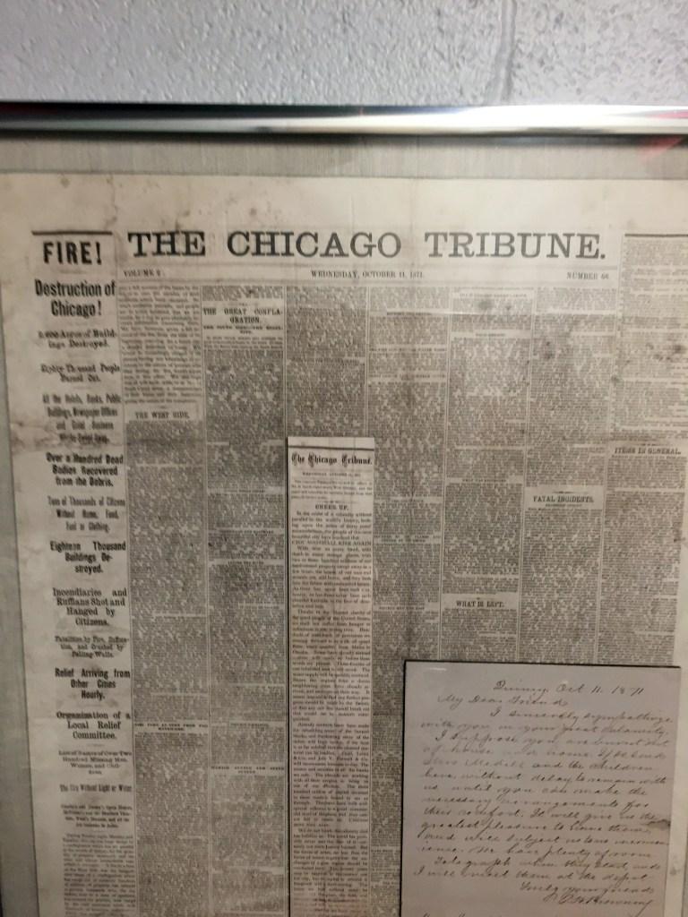 historic chicago tribune