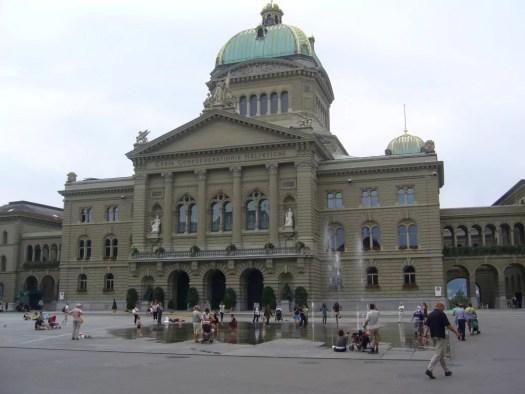 Bundeshaus Bern. Parlament w BErnie