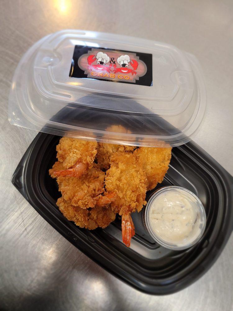 fried shrimp, shrimp, crab house, crabs near me, shrimp near me, tartar sauce, R & L Crab Co, Randlcrabco, R & L Crab LLC