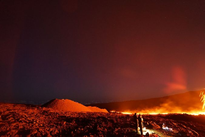 Eruption Piton de la Fouurnaise 15 septembre 2018 Tunnels de lave réunion ; Rando Volcan (2)