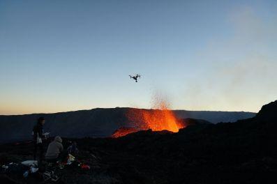 Eruption Piton de la Fouurnaise 15 septembre 2018 Tunnels de lave réunion ; Rando Volcan (9)