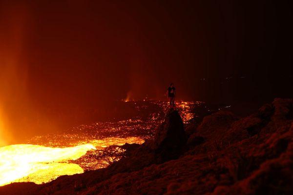Eruption piton de la fournaise octobre 2019