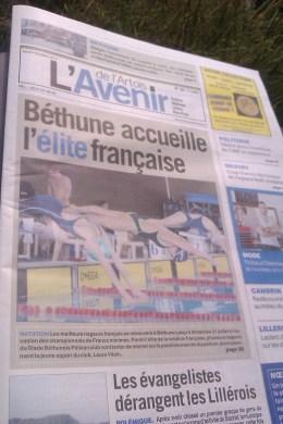 Championnat France Natation Minimes bethune2
