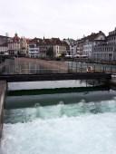 la Reuss à Lucerne
