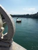 descente du Rhin en wickelfisch à Bâle