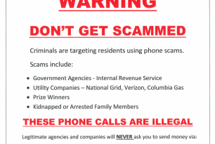 New on RandolphPD.com: Fingerprinting services and how to stay safe from phone scams