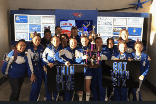 "Randolph/Holbrook Cheerleaders to Host ""Back the Blue"" Rally This Weekend"