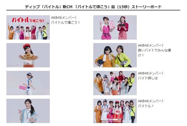 「バイトル」×AKB48グループCM第16弾