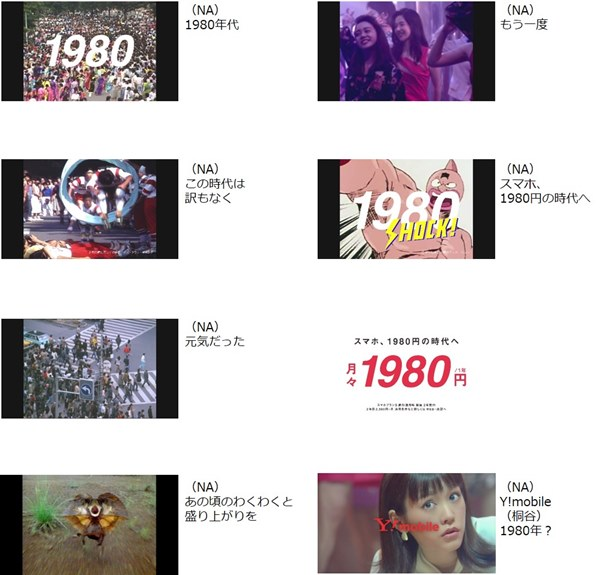 新CM 「1980SHOCK」シリーズ