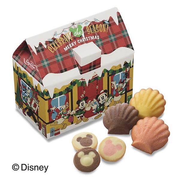 """ディズニー""""クリスマスハウス(6種14個入)"""