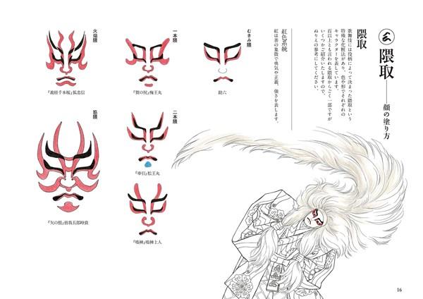 歌舞伎絵巻ぬりえbook2