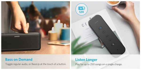 Anker SoundCore Boost (Bluetooth スピーカー)
