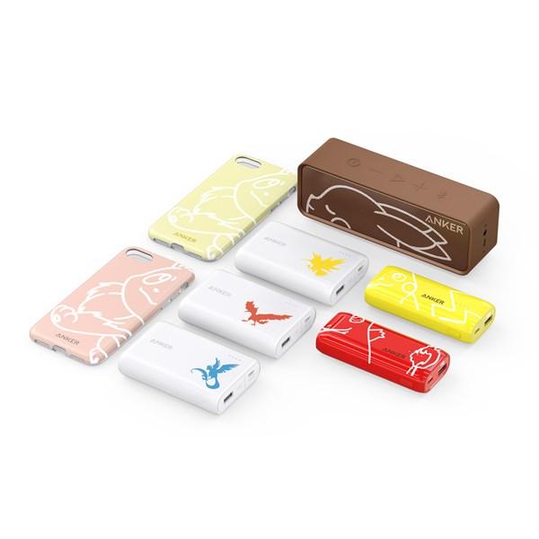 Anker、ポケモンデザインの8製品