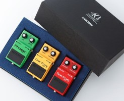 BOSSコンパクト・ペダル 40周年アニバーサリー・ボックス・セット BOX-40