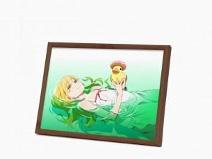 オリジナルnanacoカード付き『《物語》シリーズ』 忍野忍 額装イラスト