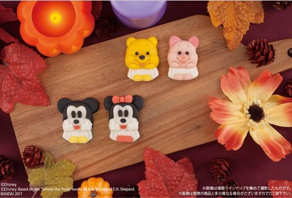『食べマス Disneyハロウィン ミッキーマウス&ミニーマウス』と『食べマス Disneyハロウィン プーさん&ピグレット』