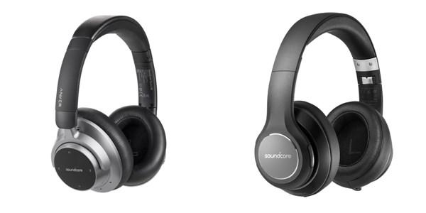 Anker初となるオーバーイヤー型Bluetoothヘッドフォン「Soundcore Space NC」および「Soundcore Vortex」