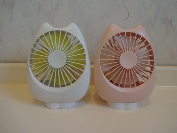 卓上扇風機 ZNT 萌えニャンコ扇風機 小型