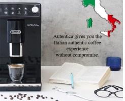 『デロンギ オーテンティカ コンパクト 全自動コーヒーマシン(ETAM29510B)』