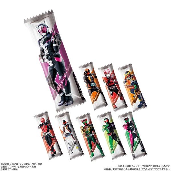 チョコレートスナック菓子「仮面ライダーチョコ」
