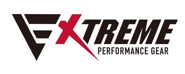新ブランド「EXTREME PERFORMANCE GEAR」ロゴ・ホワイト