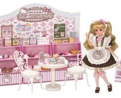 「リカちゃん♥ハローキティ スイーツカフェ」