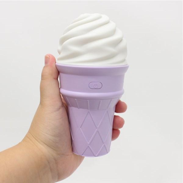 ソフトクリーム型 ミニ加湿器