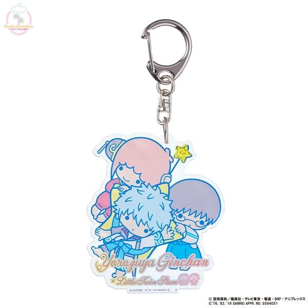 「銀魂×Sanrio characters」のアートデザインの雑貨・アパレルアイテム