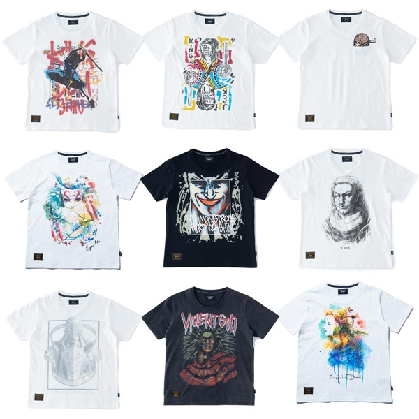 『キングダム』×『glamb』コラボレーション Tシャツ