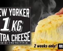 「New Yorker 1キロ ウルトラチーズ」