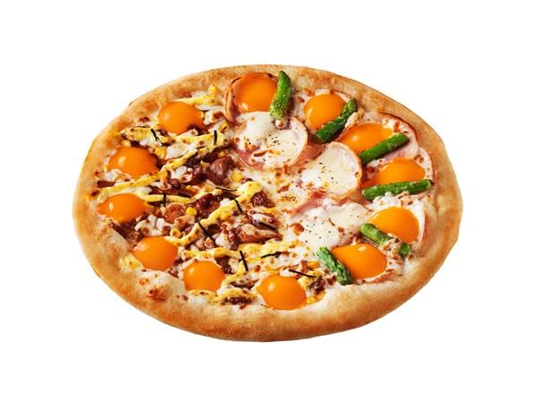 「ポクてり月見ピザ」