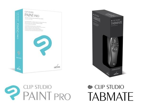 ペイントツール CLIP STUDIO PAINT PROパッケージ版 またはCLIP STUDIO TABMATE(提供:株式会社セルシス)