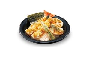 <天丼>  598円(+税) → 299円(+税)