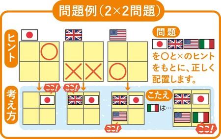 『ロジカル国旗パズル』