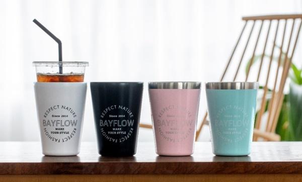 『BAYFLOW CUP COFFEE TUMBLER BOOK』