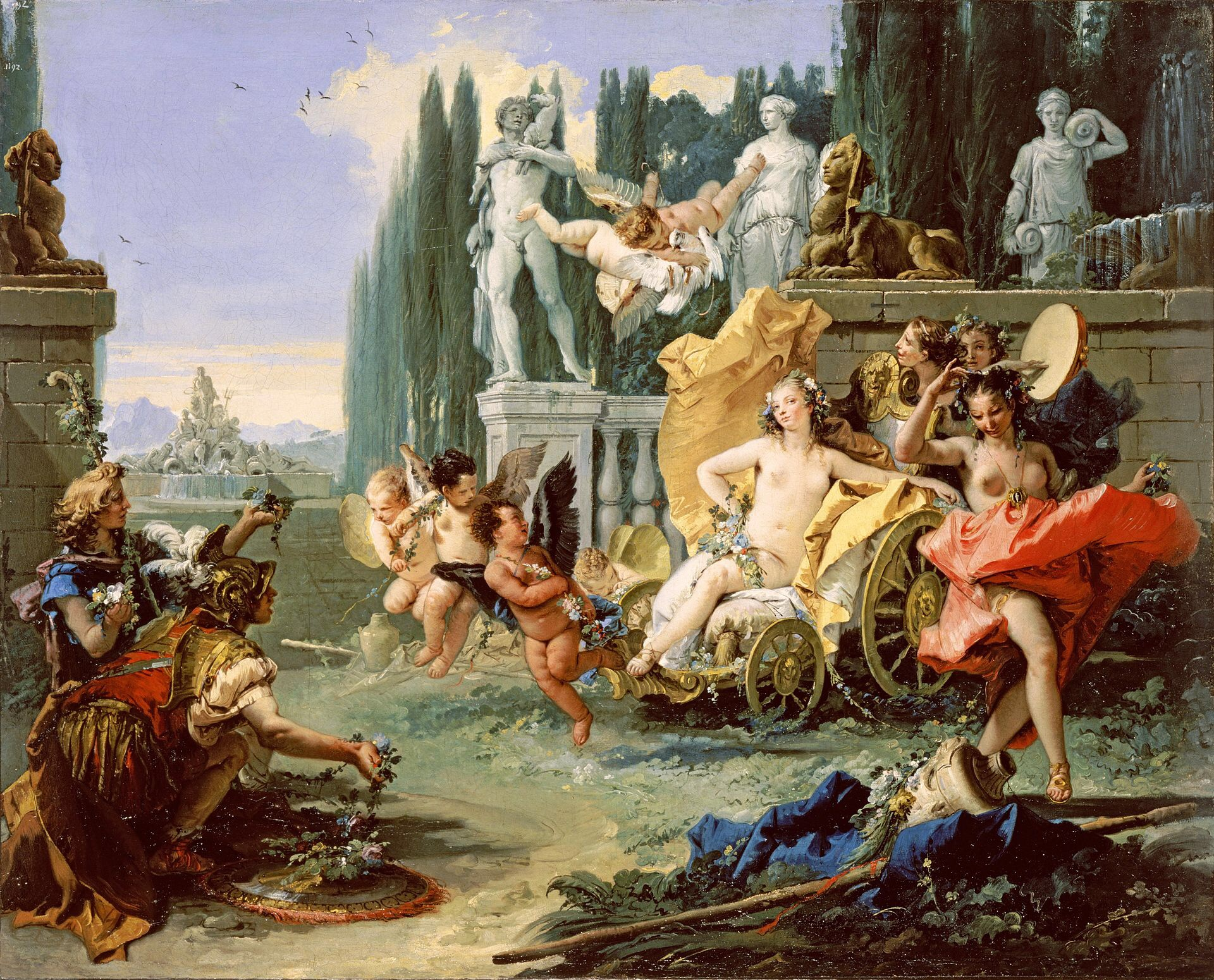 Floralia: the festival in ancient Rome in honor of the goddess Flora