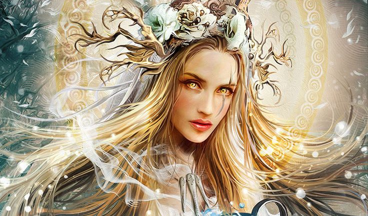 Zhiva: the Slavic Goddess of Life